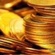 Heap of gold coins — Stock Photo #1426864