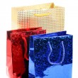 Three gift bags — Foto de Stock