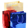 Three gift bags - Stock Photo