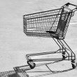 Empty shopping cart — Stock Photo #1427745