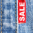 Jeans sale - Stock Photo