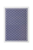 Playing card from back — Stock Photo