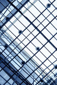 Ceiling of office building — Stock Photo