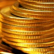 Stack of gold coins - Stock Photo