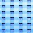 Windows of apartment skyscraper — Stock Photo