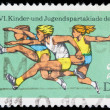 Germany postage stamp - Stock Photo