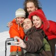 Royalty-Free Stock Photo: Friends taking photo