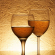 Two glasses of wine — Stock Photo #1435587