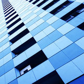 Wall of skyscraper — Stock Photo