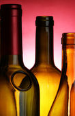 Bottle-necks close-up — Stock Photo