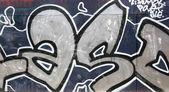 Wall with graffiti — Stock Photo