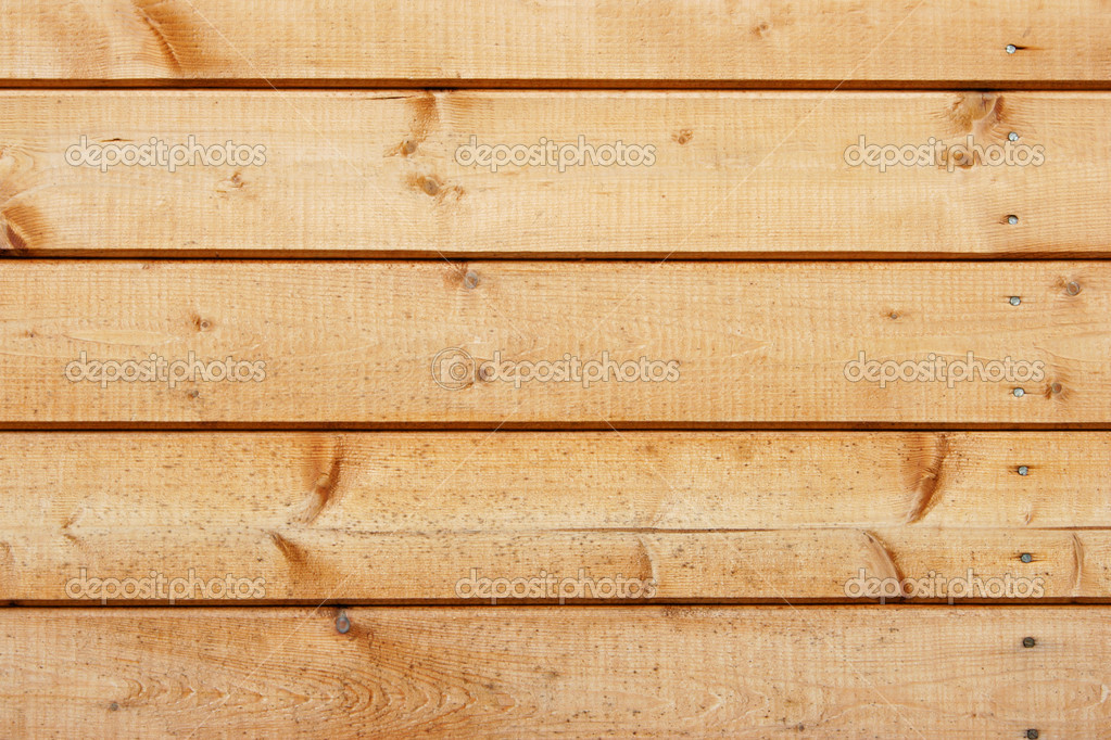 Wooden fence close-up, may be used as background — Stock Photo #1431811