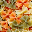 Bows - italian pasta — Stock Photo