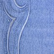 Blue jeans with pattern — Stok Fotoğraf #1441386