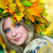 Miss Autumn - Stock Photo