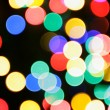 Colorful christmas lights - Stock Photo