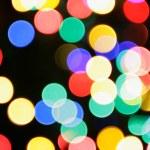 Colorful christmas lights — Stock Photo