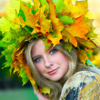 Foto Stock: Miss Autumn