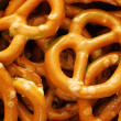 Pretzel with salt - Stock Photo