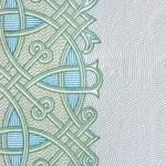 Money protective pattern — Stock Photo