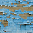Blue wooden wall — Stock Photo