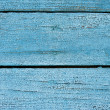 Blue wooden wall — 图库照片