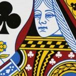 Постер, плакат: Clubs queen