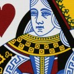 Hearts queen — Stock Photo #1446084