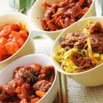 Chinese dishes — Stock Photo