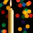 Stock Photo: Candle and illumination lights