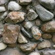 Stone wall close-up - Stock Photo