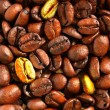 Golden coffee beans — Stock Photo #1446524