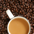 Coffee with milk — Stock Photo #1446545
