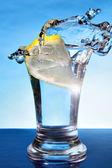 Vodka-lemon — Stock Photo