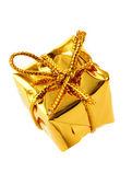 Golden box — Stock Photo