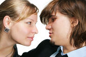 Face to face — Stock Photo