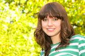 Portrait of teen girl — Stock Photo