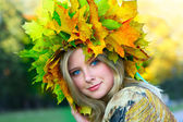 Miss Autumn — Foto Stock