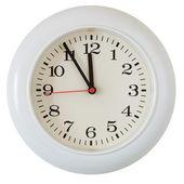 Wall clock dial close-up — Stock Photo