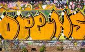 Stedelijke graffiti close-up — Stockfoto