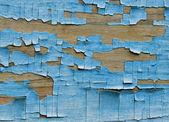 Mavi ahşap duvar — Stok fotoğraf