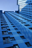 Multistory residential construction — Stock Photo
