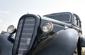 Black car 1930s — Stock Photo