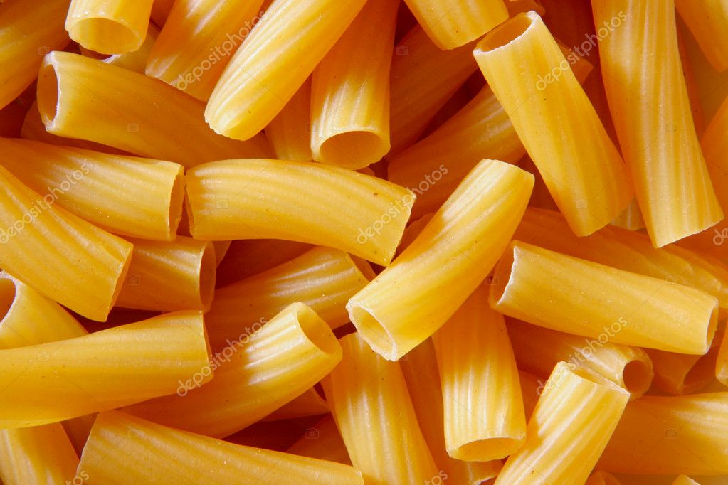 Uncooked italian pasta, may be used as background  — Stock Photo #1441199