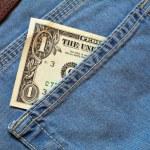 One dollar — Stock Photo #1450428