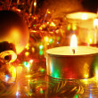 Christmas candles — Stock Photo #1450492