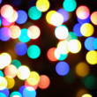 Christmas lights abstract background — Stock Photo