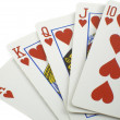 Royal flush - Stockfoto