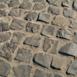 Cobbly road texture — Stock Photo