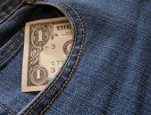 1 dolar — Stok fotoğraf
